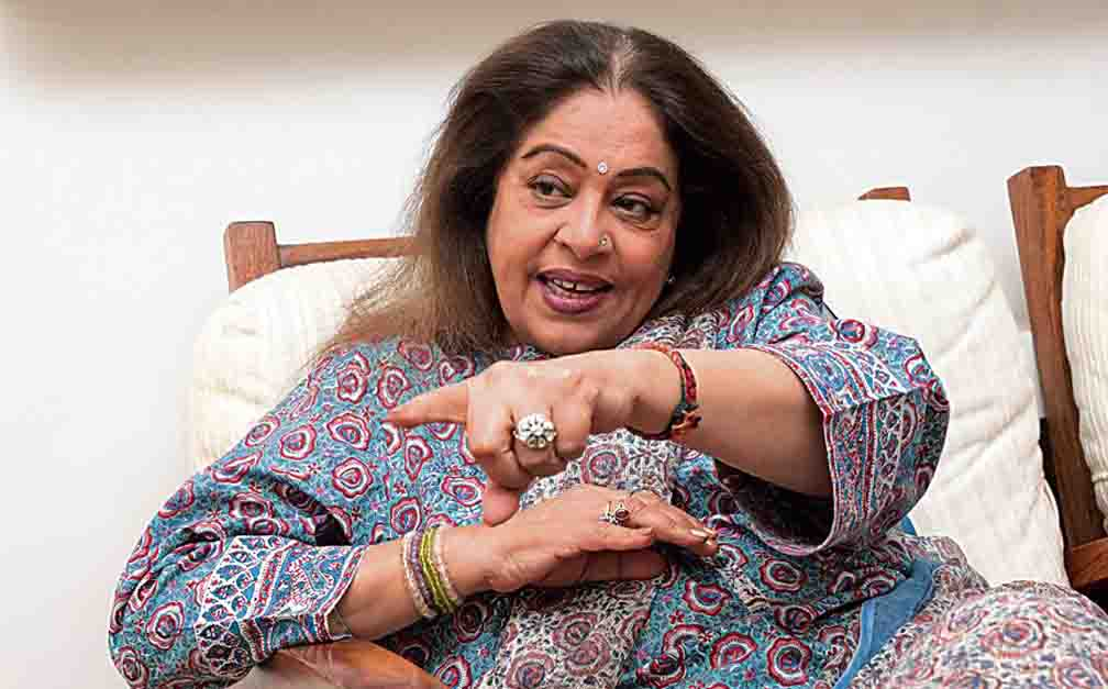 Kirron Kher's hand fracture for the third time in 2 years