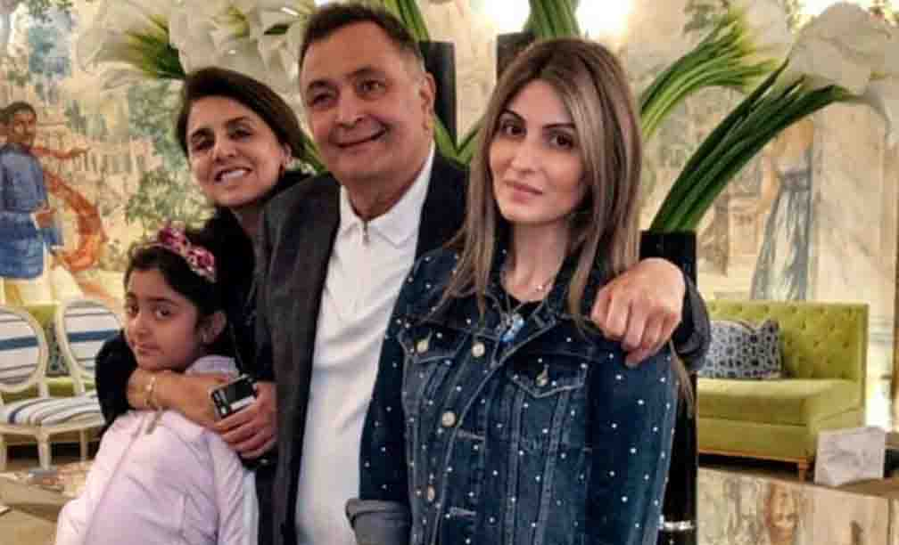 Remembering Rishi Kapoor, daughter Riddhima shared an old picture of Diwali celebrations
