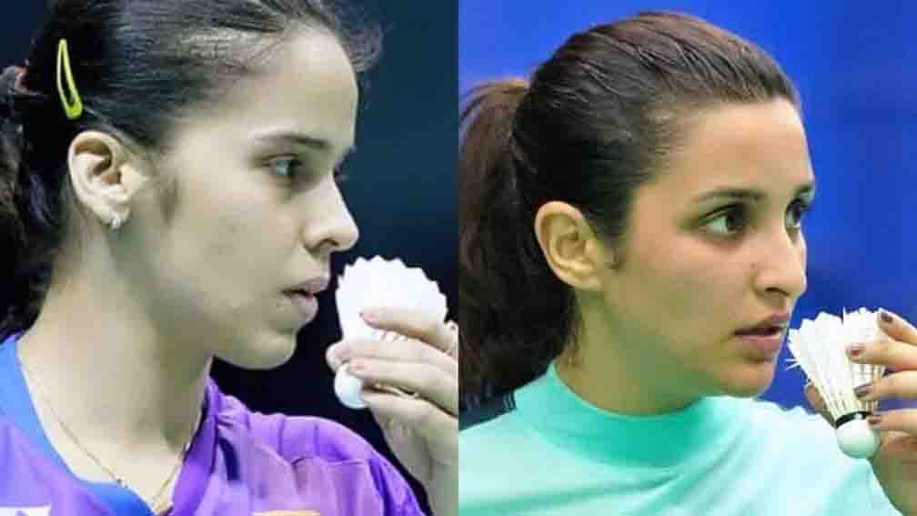 Saina Nehwal released the first look of Parineeti Chopra from her biopic
