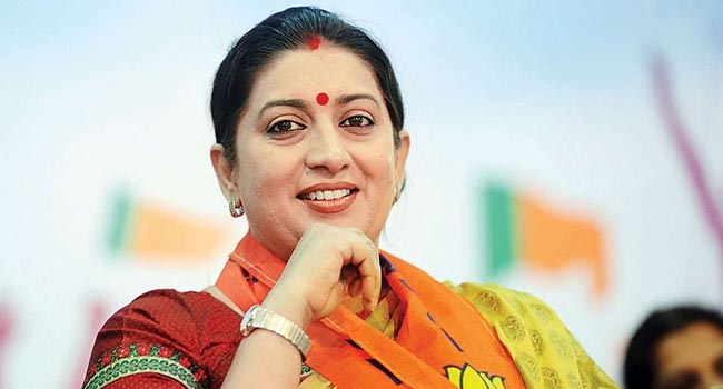 Kovid-19: Smriti Irani becomes infection free