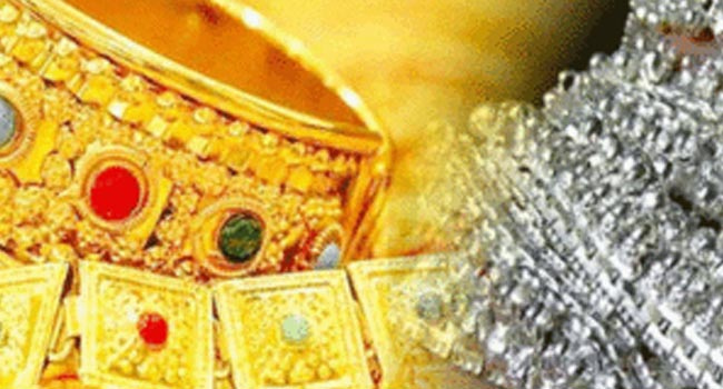 Gold and silver shine before Dhanteras