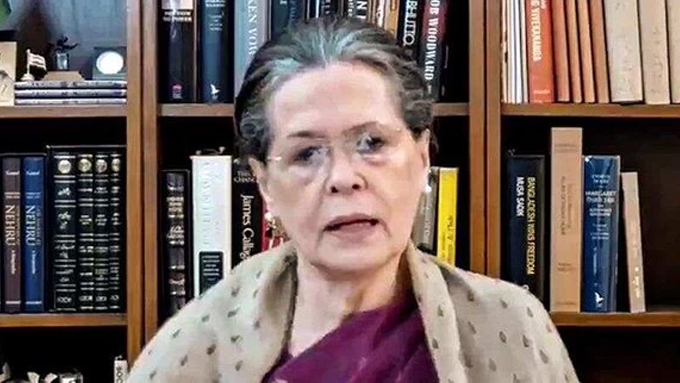 Chhath Puja exemplifies the faith and glorious tradition of India: Sonia
