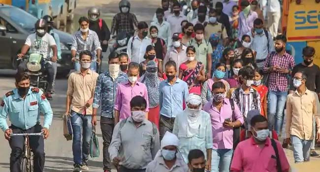 The number of Karona infections in the world crosses 4.86 crore