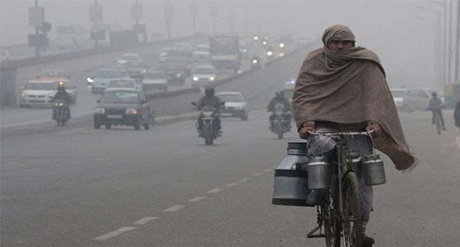 Delhi's lowest temperature in 6.3 years at 6.3 degrees Celsius