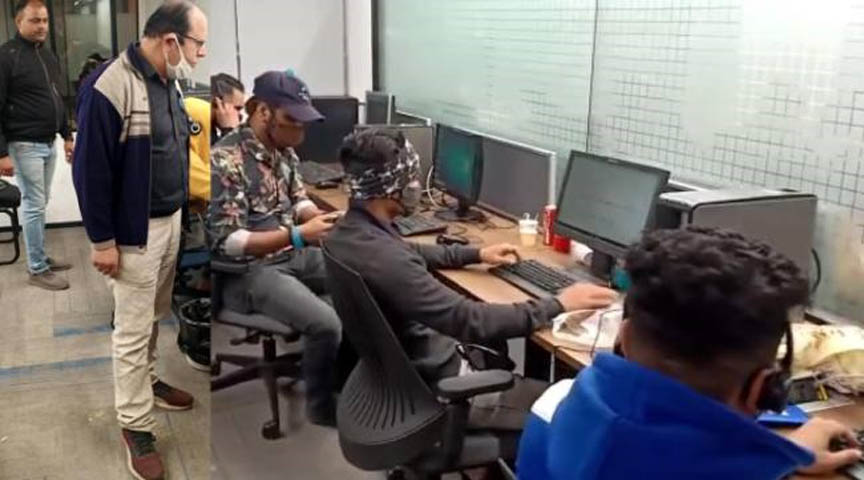 Crews Two fake call centers busted four arrested