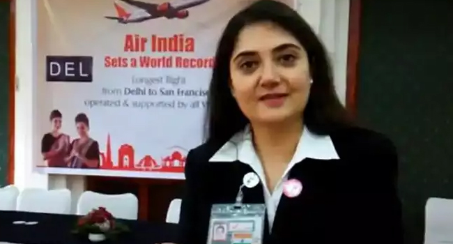 Harpreet Singh: First woman to become Indian airline head in 110 years