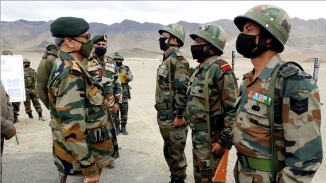 Indian and Chinese armies call eighth round of military talks constructive