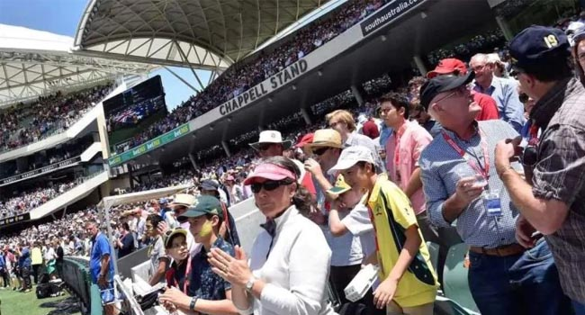 India . Australia will have 27000 spectators in day night test