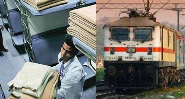 Now passengers will not have to be troubled by the cold, the Railways has taken a big step - Disposable blankets, sheets and pillows will be available at the stations