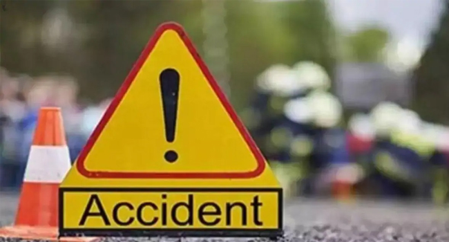 Four people of the same family died in a horrific road accident
