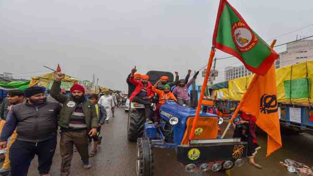 60 thousand tractors hit the road against agricultural laws, video goes viral