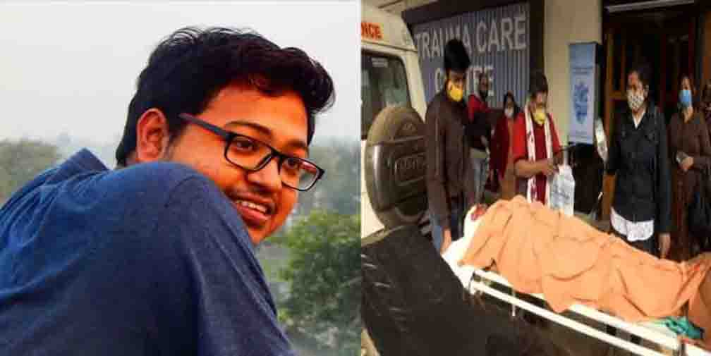 A journalist died in a road accident on Anwar Shah Road, Kolkata
