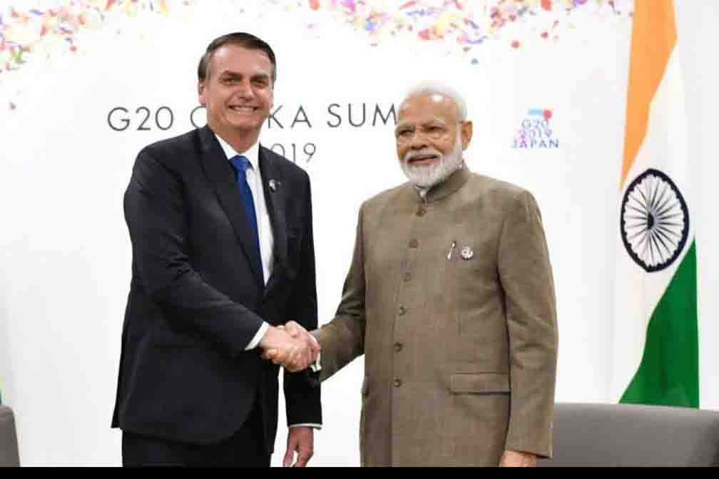 Being a reliable ally of Brazil in the fight against Kovid-19 is an honor for India: Modi
