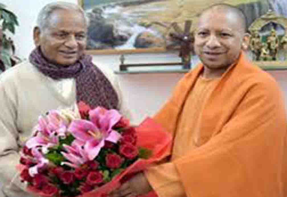 Former Chief Minister Kalyan Singh received many wishes on his birthday