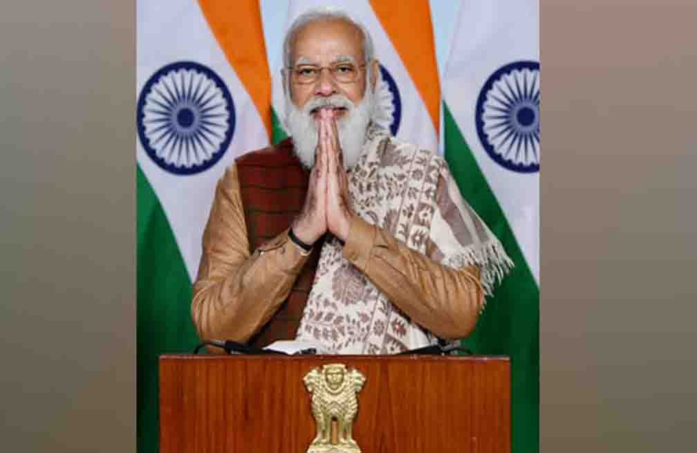 Modi congratulates farmers on the occasion of completion of five years of Prime Minister Crop Insurance Scheme