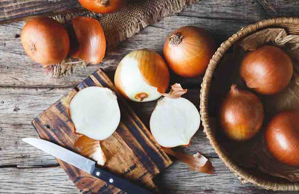 Rich in anti-fungal and antioxidant properties, onion is very beneficial for health