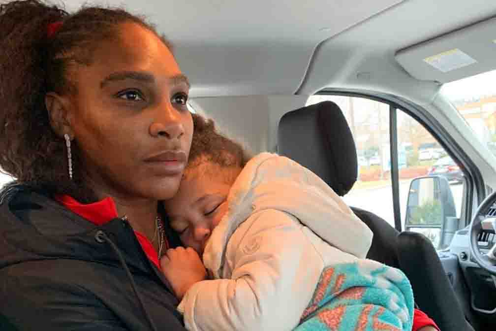 Serena Williams took daughter to zoo before Australia Open