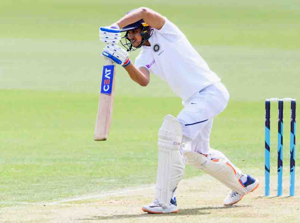 Shubman Gill strengthens team with first fifty of Test career