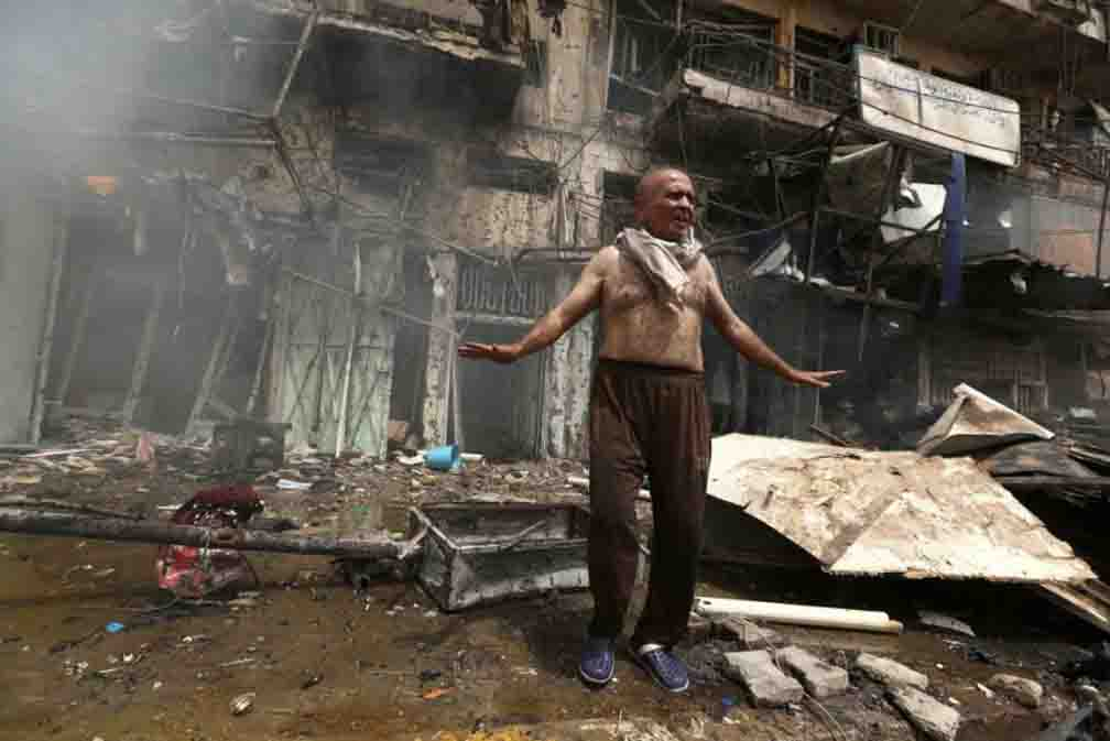 Six people died in suicide bombings in Iraq's capital