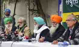 The Kisan Morcha convened a meeting to discuss the violence during the tractor parade of farmers in Delhi