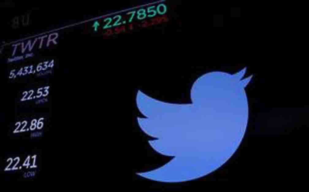 Twitter shares down 6.4 percent as Trump's Twitter account closes