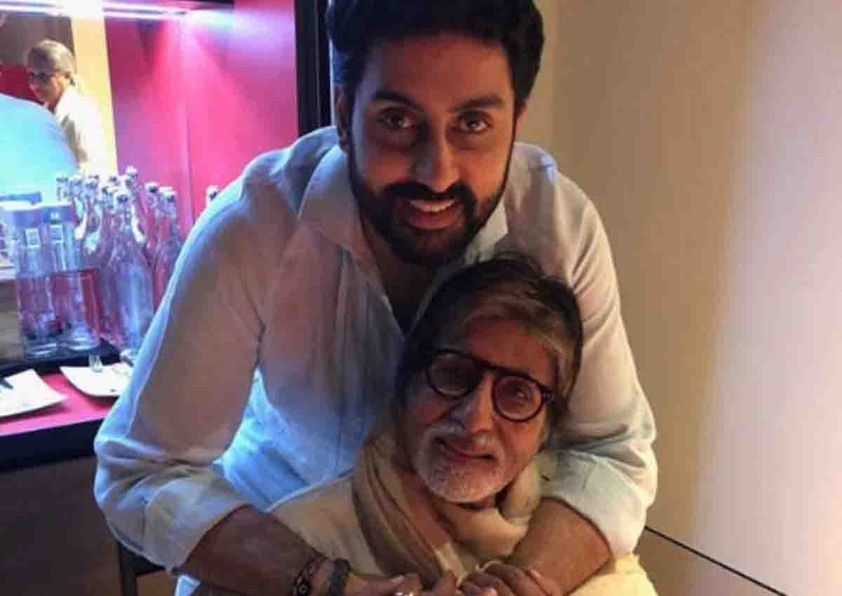 Amitabh Bachchan wrote emotional message with two pictures on Abhishek's birthday