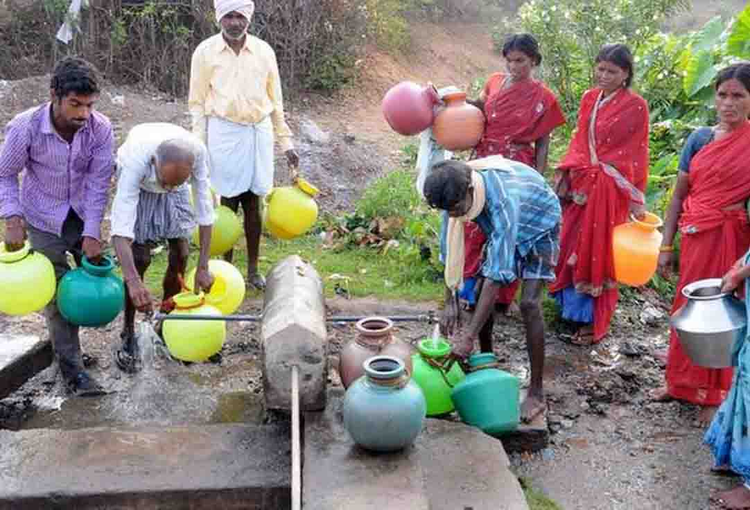 Arsenic problem in drinking water of 78 habitations of the country