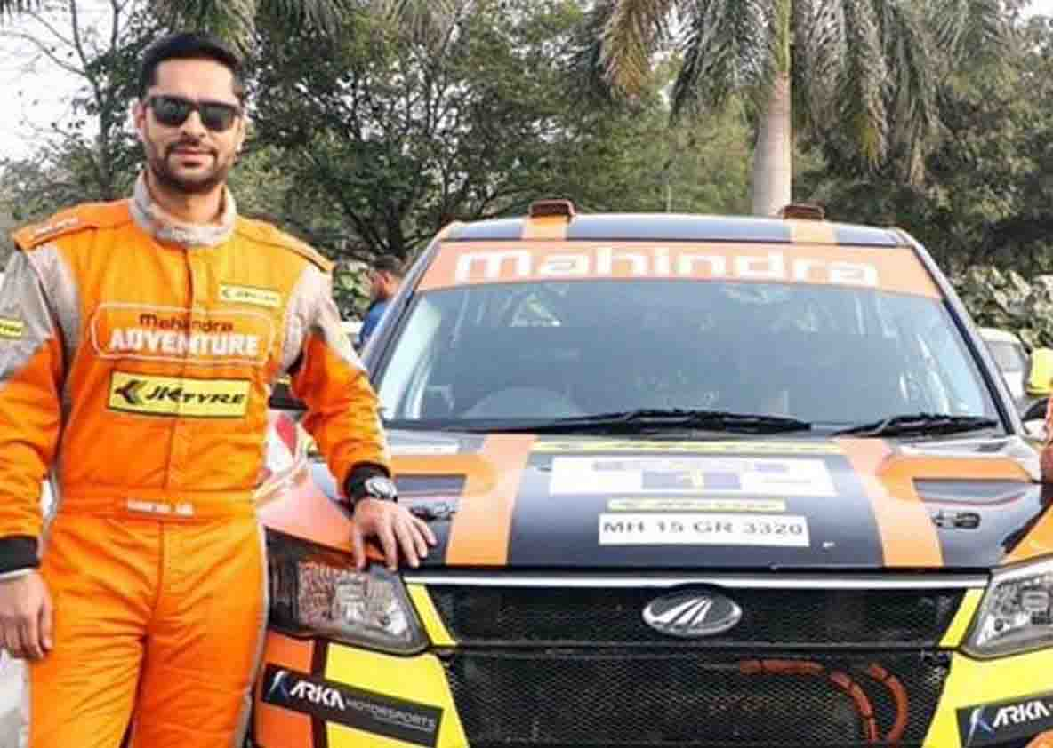 Car racer Gaurav Gill won the National Rally Championship title by winning the Coimbatore rally