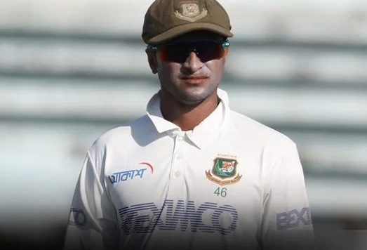 Injured Shakib ruled out of Dhaka Test