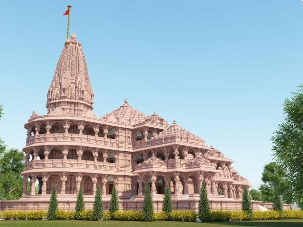 People gave donations for the construction of Ram temple