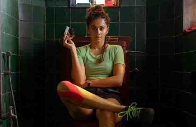 Taapsee Pannu shares her look with 'Loop Wrapped'
