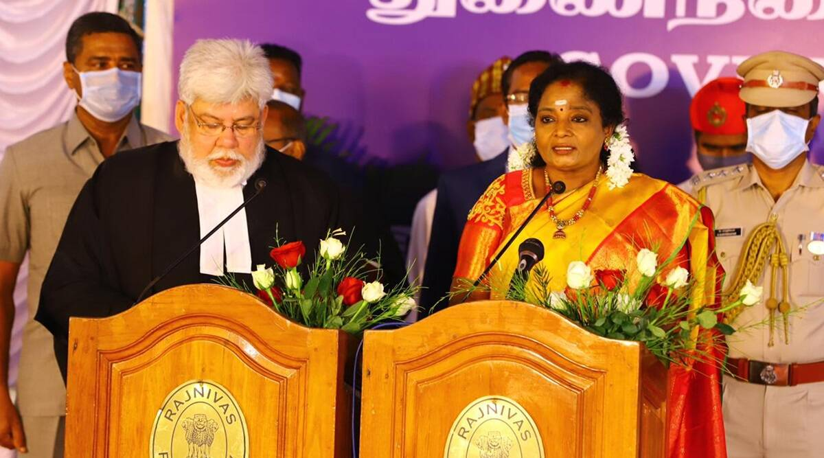 Tamilisai Sundararajan sworn in as Lt. Governor of Puducherry