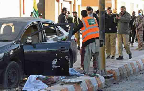 Two killed, 28 injured in Pakistan blasts: Police