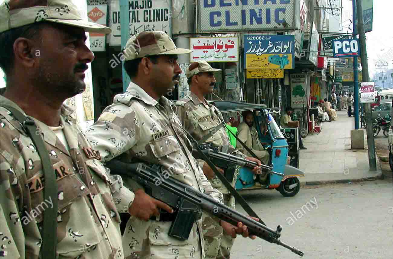 Unknown gunmen attacked at check post in Pakistan, four soldiers died