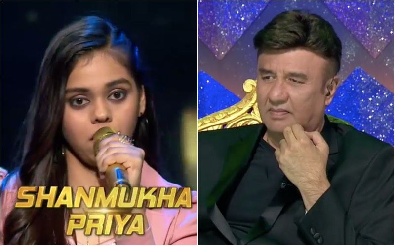 Anu Malik, given the voice of Contestant Shanmukhapriya, offered the song
