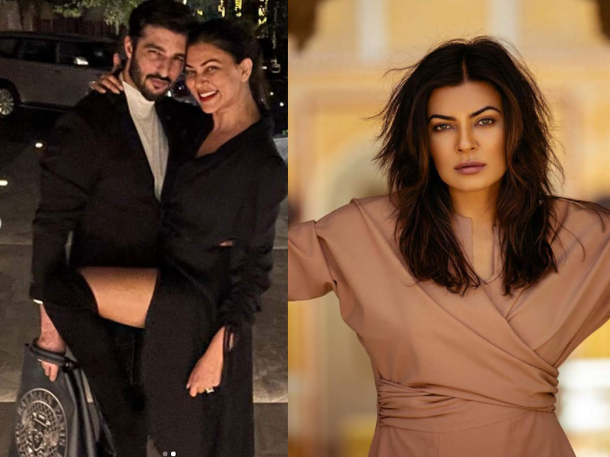 Sushmita Sen told Rohman 'Uff darling', speaking of those talking about breakup stopped