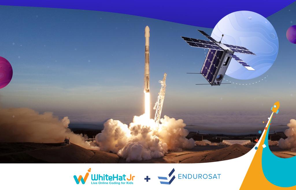 Whitehat Jr. partnered with Endurosat for space-related education