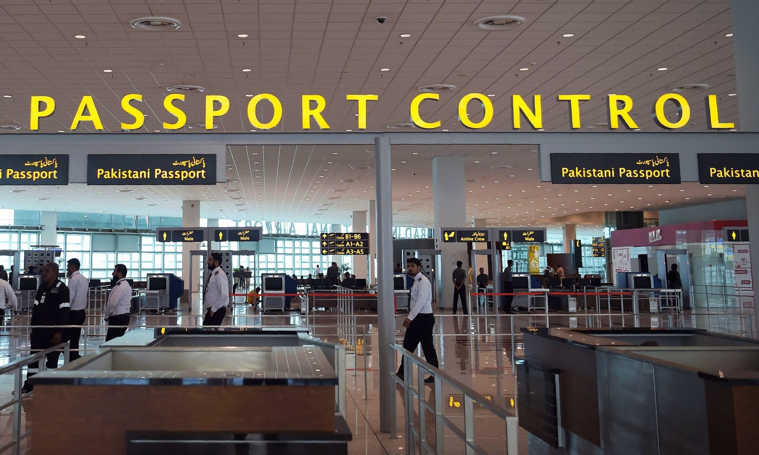 Pakistan imposed a ban on travelers coming from India