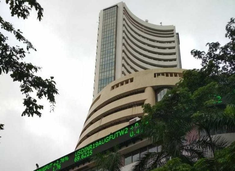 Sensex plunges 1,300 points, Nifty down 14,300 due to rising outbreak of Covid-19 pandemic