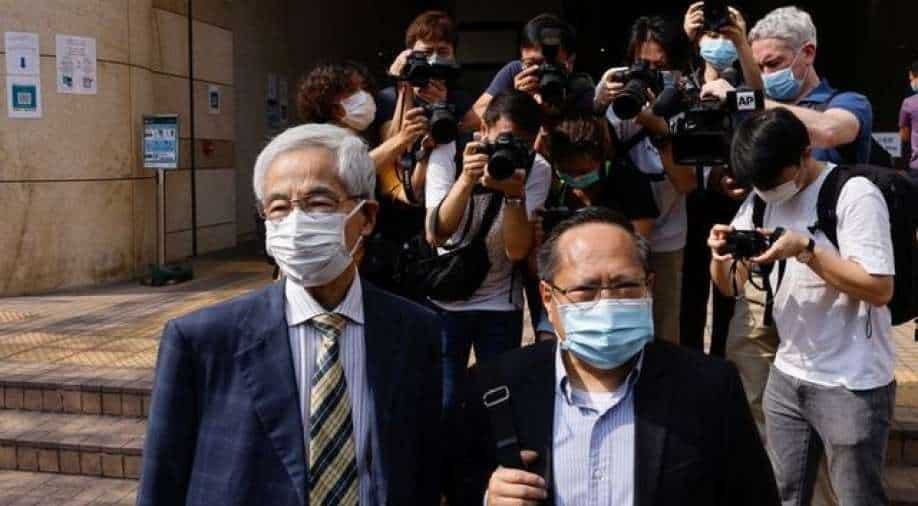 Seven Hong Kong activists convicted of unlawful gathering in 2019