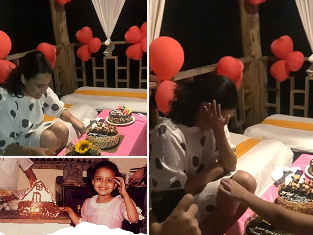 Swara Bhaskar wept while cutting the birthday cake, Papa sent a very long letter to the daughter