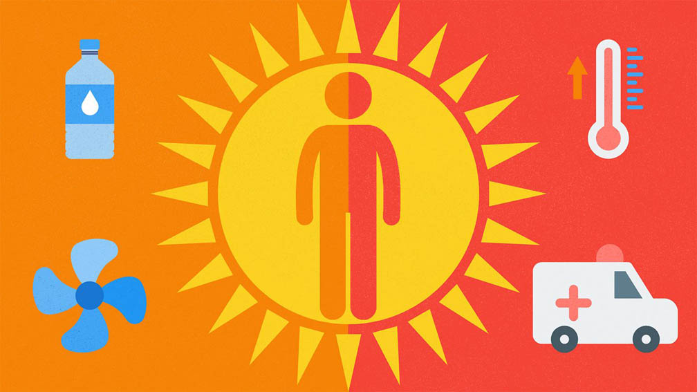 There is a risk of heatstroke in summer, how to protect