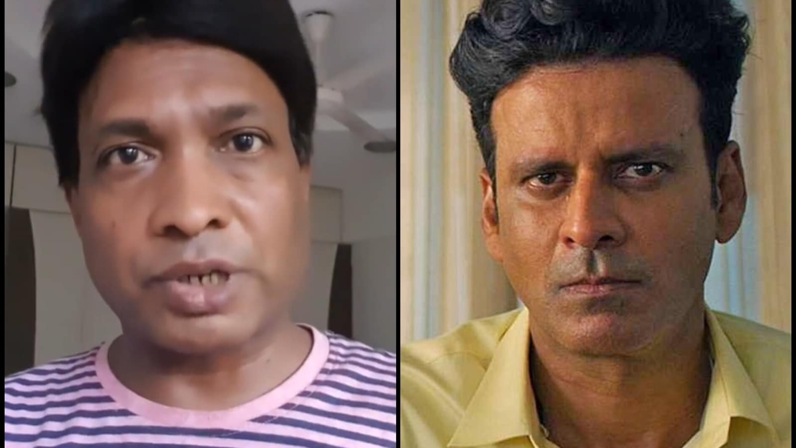 Manoj Bajpayee made fun of Sunil Pal's 'dropped' comment, said this thing