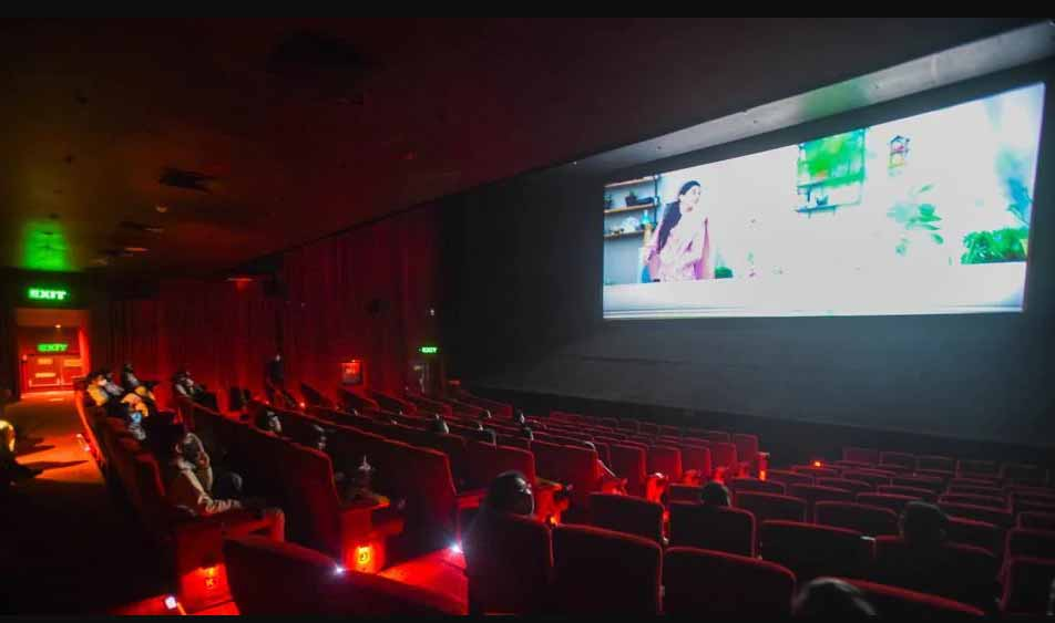 The cinema halls do open, but the silver is still on the OTT platform