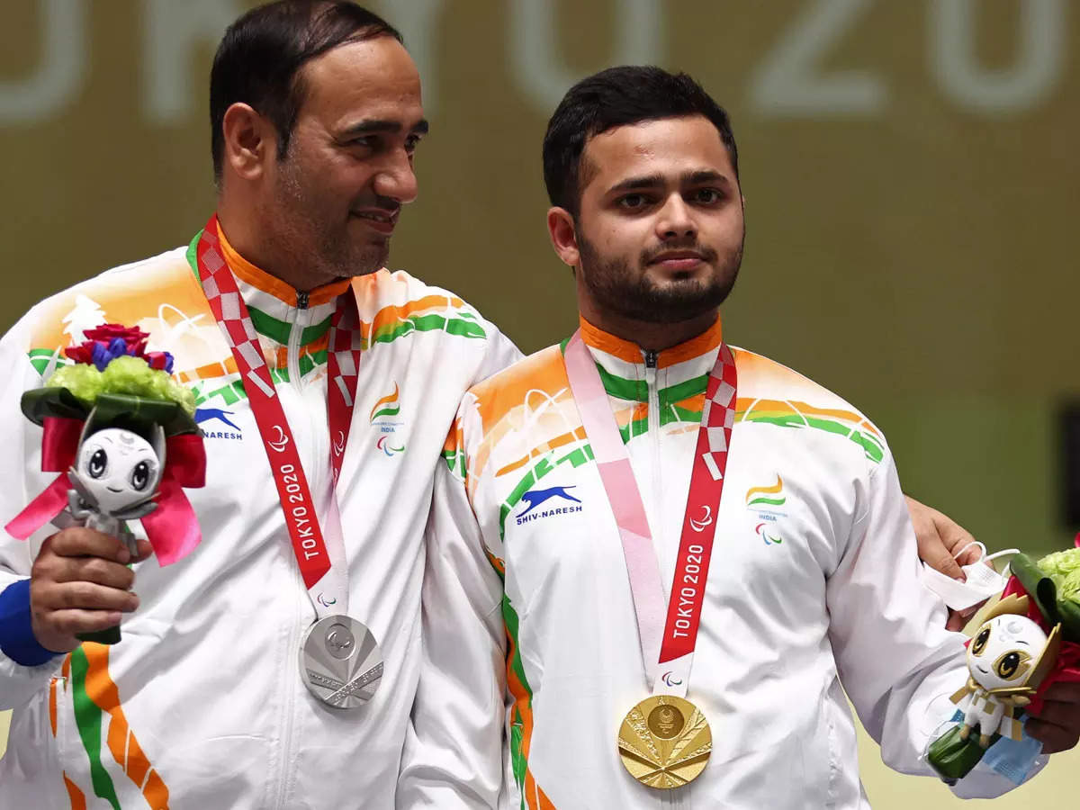 Haryana government will give 6 crores to Manish Narwal and 4 crores to Adhana, both have won gold and silver