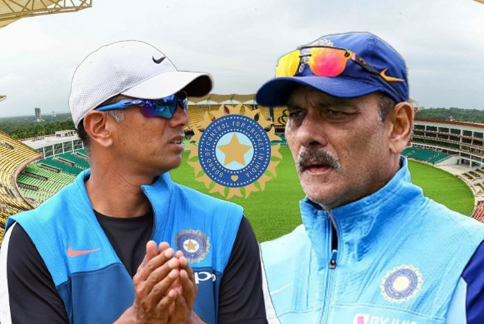 Rahul Dravid can be made the head coach of Team India