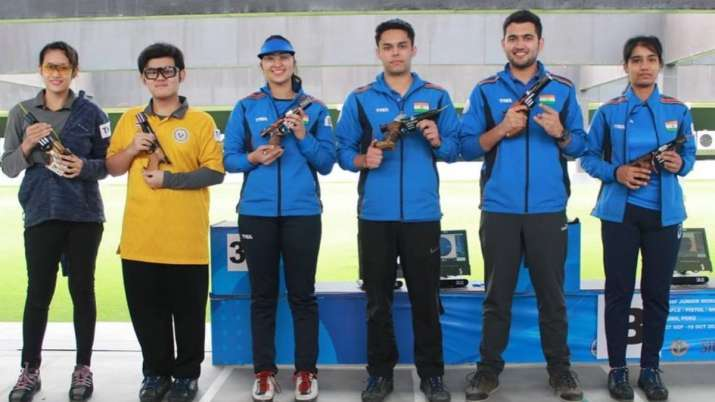 India got 10th gold medal in Junior Shooting World Championship