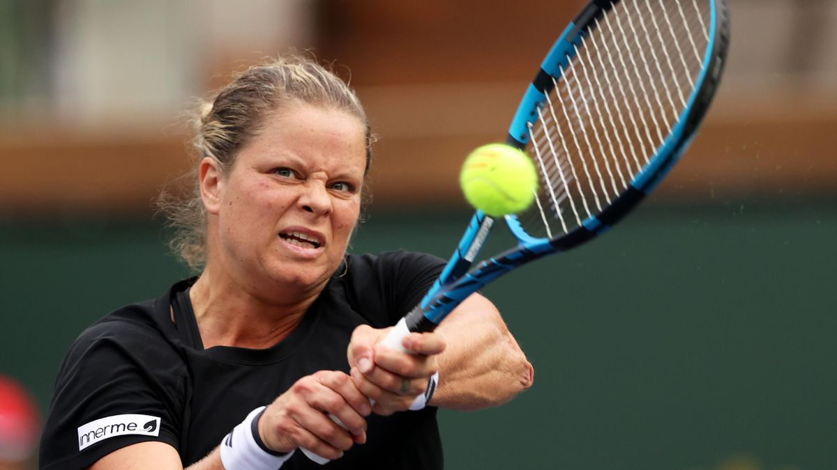 Kim Clijsters knocked out in Indian Wells first round