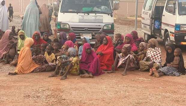 Rescued 187 people kidnapped by armed bandits